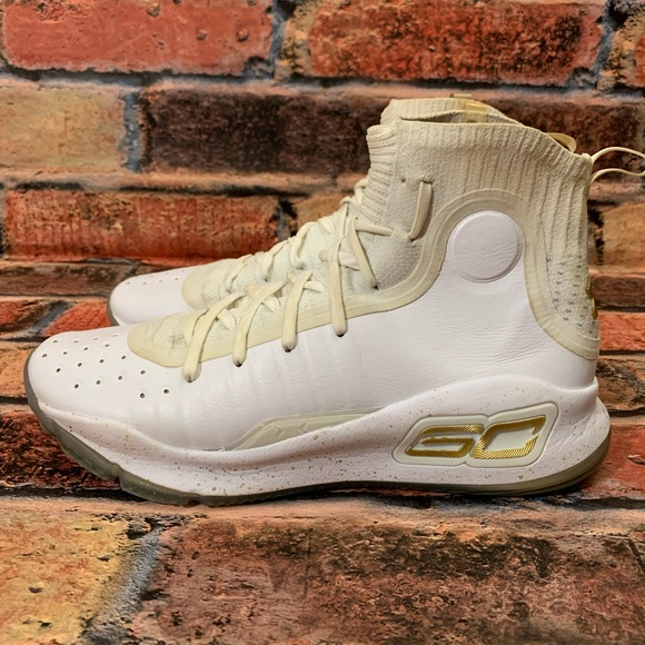 stephen curry 4 white gold